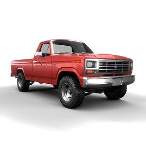 3D 1980 f150