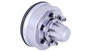 3D brake drum