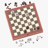 Chess Board Set 02 Pose 10