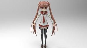 aria kanzaki 3D model