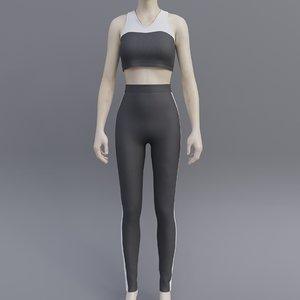 3D gym wear
