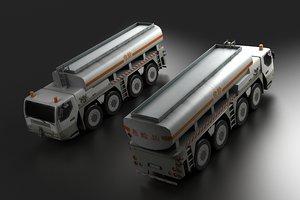3D heavy duty liquefied gasoline model