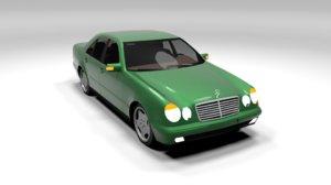 mercedes e class 3D model