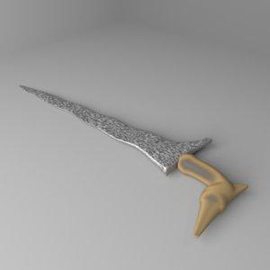 3D kris dagger 5