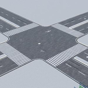 street road 3D model