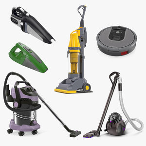 vacuum cleaners 5 cleaning 3D