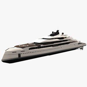 ganimede yachts dynamic simulation 3D model