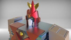 3D vultus 5 model