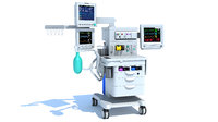 Anesthesia Respiratory Workstation Trolley