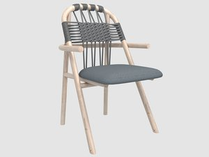 woven unam armchair gervasoni model