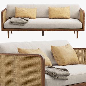 joybird clea sofa 3D model