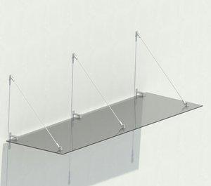 fine parametric canopy - 3D model