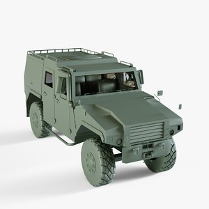 amz tur 3D model