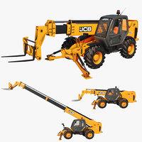 Game Ready Telehandler Telescopic Handler Forklift