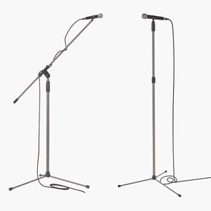 3D microphones 2 stand