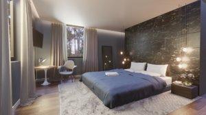 bedroom interior 3D