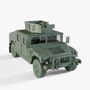 hmmwv humvee m1025 3D model