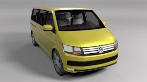volkswagentransporter van 3D