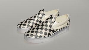 3D vans classic shoe