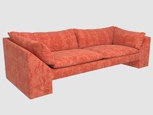 sunset sofa kelly wearstler model
