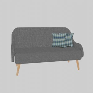 great sofa cushions 3D model