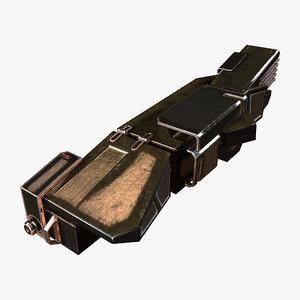 thrust amplifier 3D model