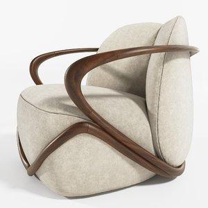 3D designer chair hug