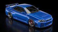 Nissan Skyline GT-R R34  V-Spec 2 Nur