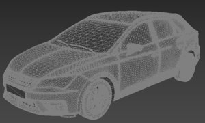 3D model seat leon st