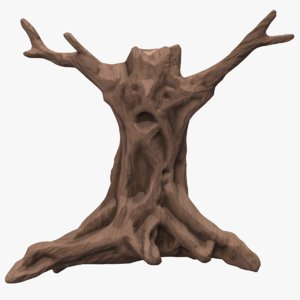 3D stylized tree