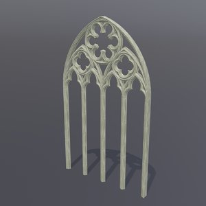 gothic arch 3D model