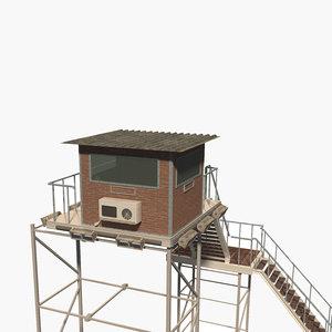 tower watch 3D