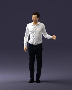 3D human ready model