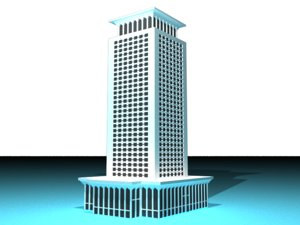 3D foreign ministry building cairo
