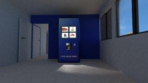 coffee tea vending 3D