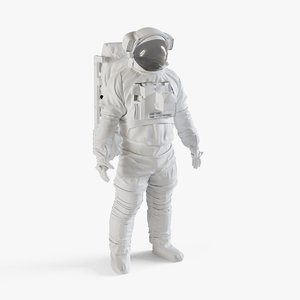 nasa space suit extravehicular 3D model
