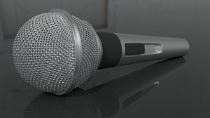 microphone music 3D