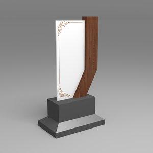 trophy display wood model