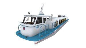 3D zarya ships model