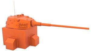 3D e-75a turret mk1 stl