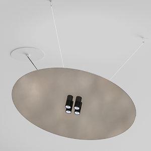 davide groppi light cartesio 3D model
