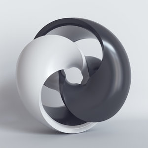 shape sculpture art 3D model