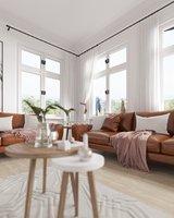 Scandinavian living Room Scene for 3ds Max and Corona Renderer 3D model