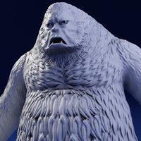 Bigfoot - 3D Print Model