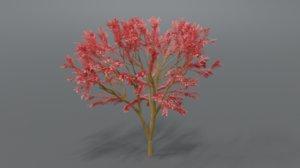 tree art cartoon 3D model