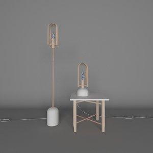 floor incandescent lamps stool model