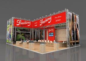 stall height 700 cm 3D