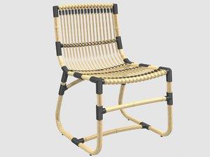 3D curve chair cane-line