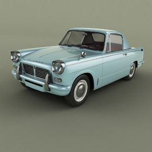 3D model triumph herald 948 coupe