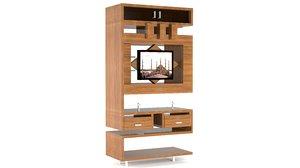 3D model modern led cabinet